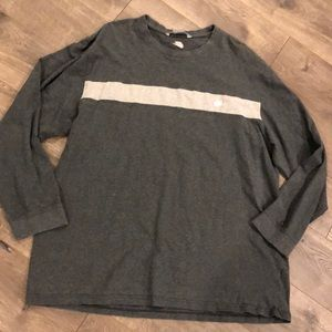 Nike Longsleeve Shirt Size 2XL Gray